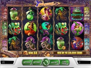 wild witches slot machine