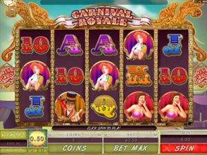 carnivale royal slot from microgaming