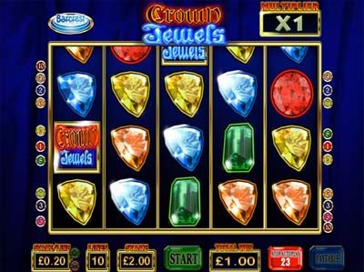 crown jewels barcrest online slot