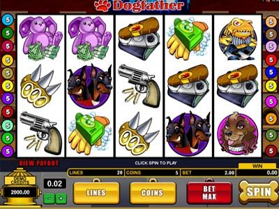 dogfather microgaming slot