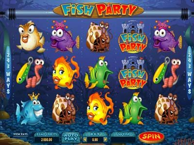 fish party microgaming slot