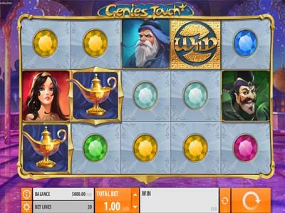 genies touch quickpsin slot
