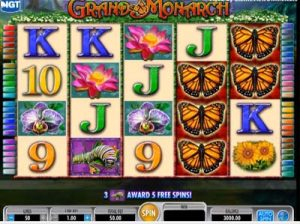 grand monarch online igt slot