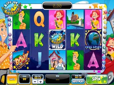 life of leisure jackpot slot from ash gaming