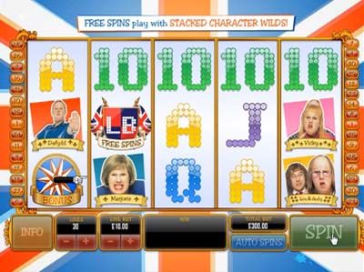 little britain ash gaming slot