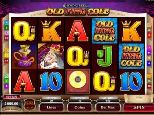 old king cole microgaming slot