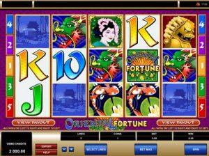 oriental fortune slot