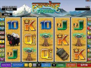 paradise found slot