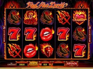 red hot devil online slot