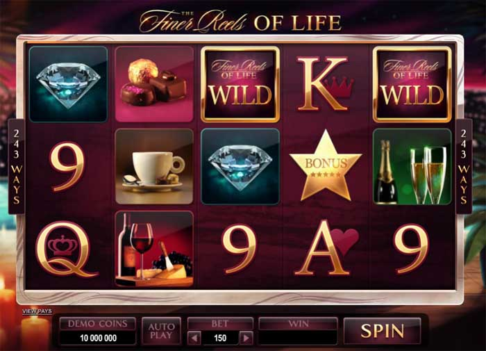 the finer reels of life slot review