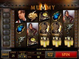 the mummy playtech slot
