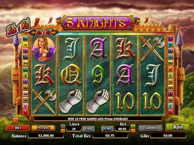 5 knights nextgen slot