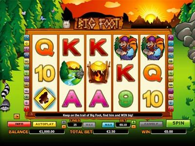 big foot nextgen slot game