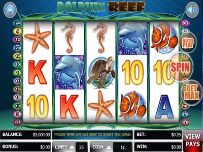 Dolphin reef slot review regle craps wikipedia