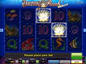 dolphins pearl deluxe online slot by novomatic