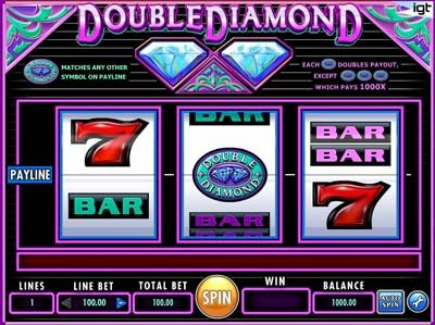 double diamond classic igt slot