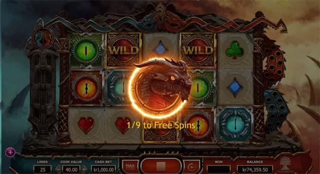 dobule dragons slot feature