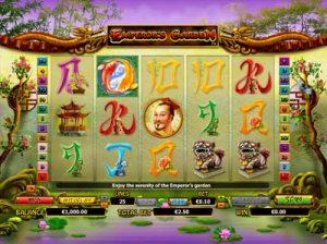 emperors garden slot review