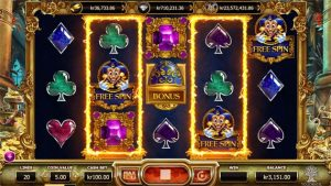 empire fortune slot free spins bonus