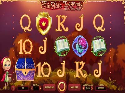 fairytale legends red riding hood slot machine