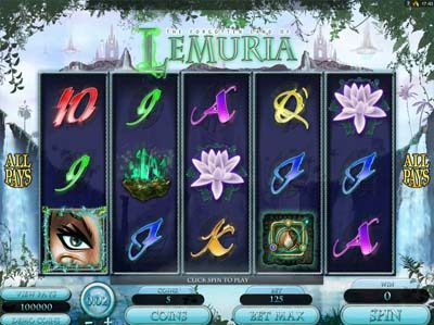 forgotten land of lemuria genesis slot