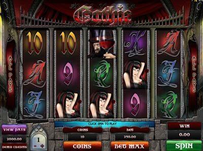 gothic genesis slot