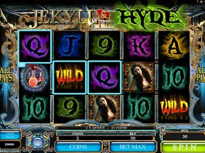 jekyll and hide slot from genesis screenshot