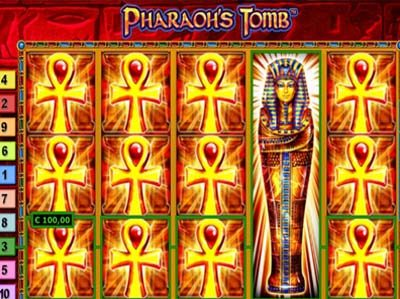 pharaos tomb novomatic slot