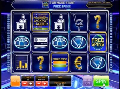 who wants to be a millionaire video slot
