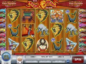 5 reel circus rival slot