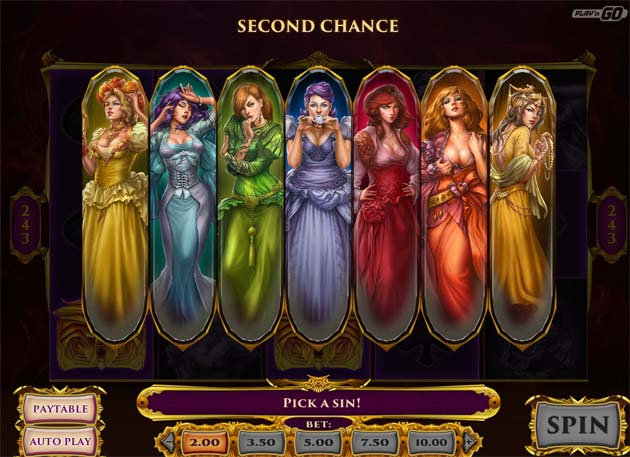7 sins slot features