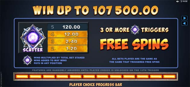 dragonz slot bonus feature
