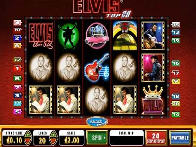elvis top 20 barcrest slot machine