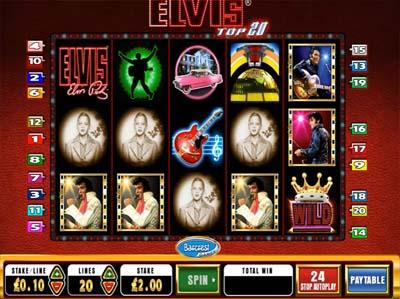 Elvis Top 20 Slot Machine