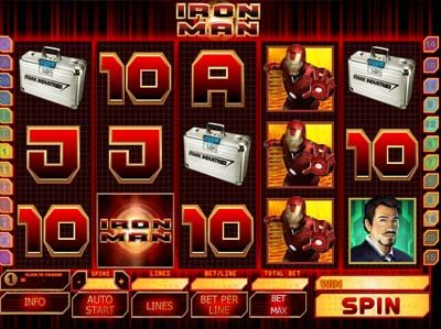 iron man playtech slot review