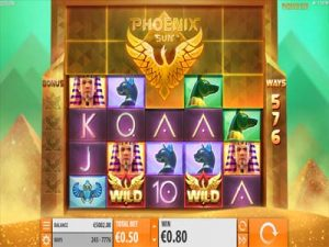 phoenix sun slot machine review