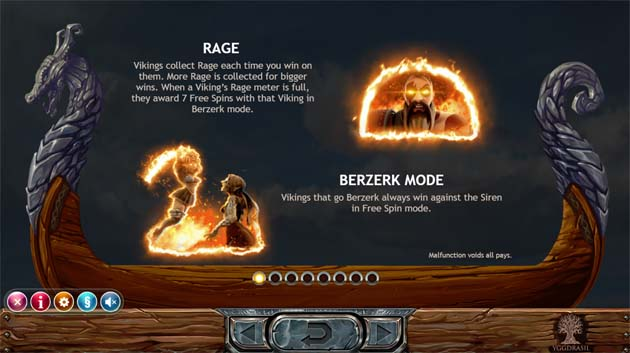 vikings go berzerk bonus feature