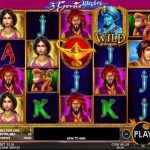 3 genie wishes slot review