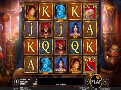 aladdins treasure slot review