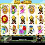 bee land slot review