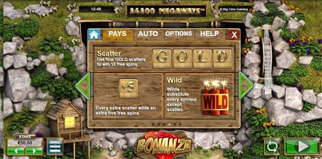 bonanza slot by big time gaming bonus feature explained