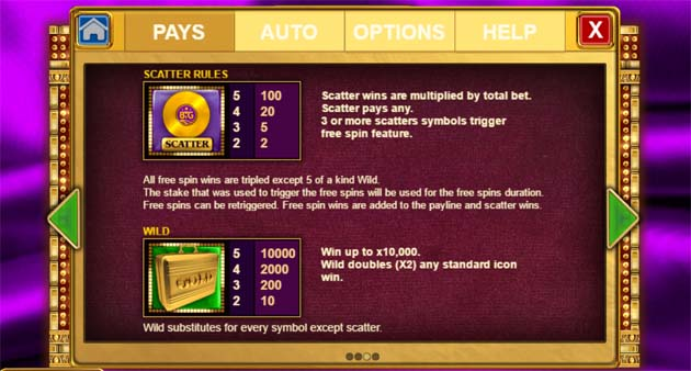 gold slot bonus feature explained