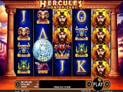 hercules son of zeus casino