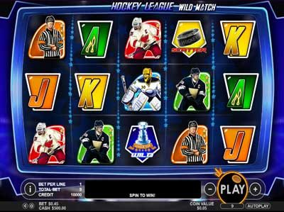 hockey league wild match slot machine review