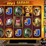 hot safari pragmatic play slot review