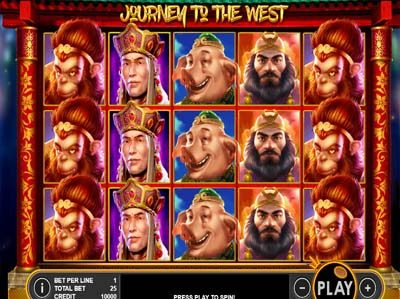 journey to the west online slot machine