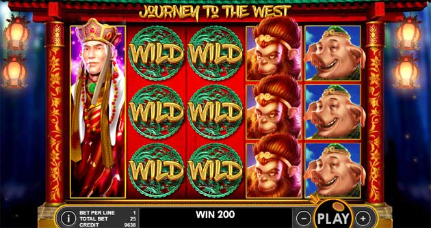 journey to the west slot review