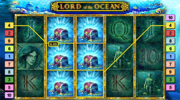 lord of the ocean bonus free spins