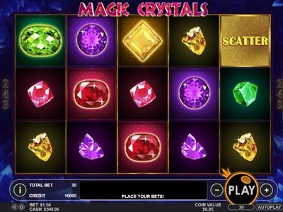 magic crystals online slot