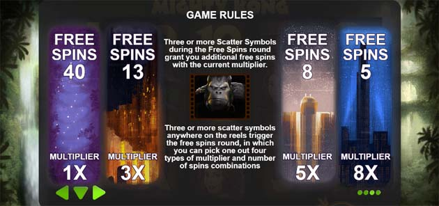 mighty slot bonus rules